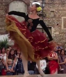 Danza Classica in Piazza Matteotti foto