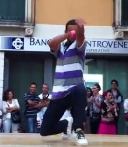 Breakdance e Hiphop in Piazza Matteotti foto