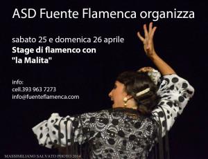 """Stage di Flamenco con """"La Malita"""" foto"""
