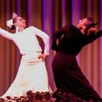 Al son de la Fuente spettacolo di flamenco foto