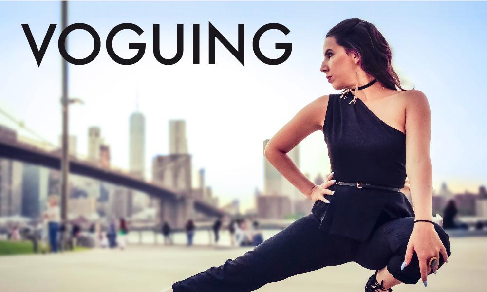 Voguing dance foto