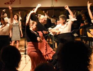 Laboratorio coreografico di flamenco foto