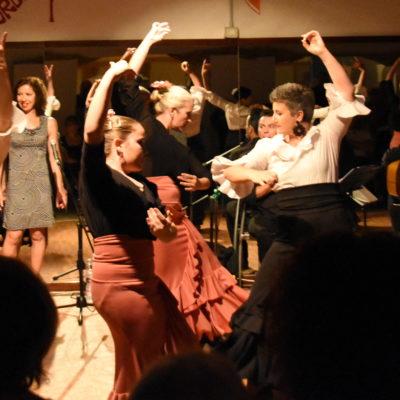 Laboratorio coreografico di flamenco